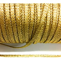 1//4 inch wide price for 2 yard Metallic Scroll Braid