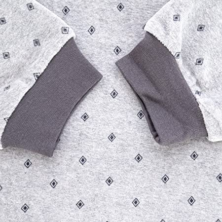 Guasch - Pijama de Punto de Terciopelo Estampado