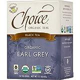 Choice Organic Teas Black Tea, 16 Tea Bags, Earl Grey