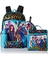 Disney Girls' Descendants 5 Pc Set Backpack