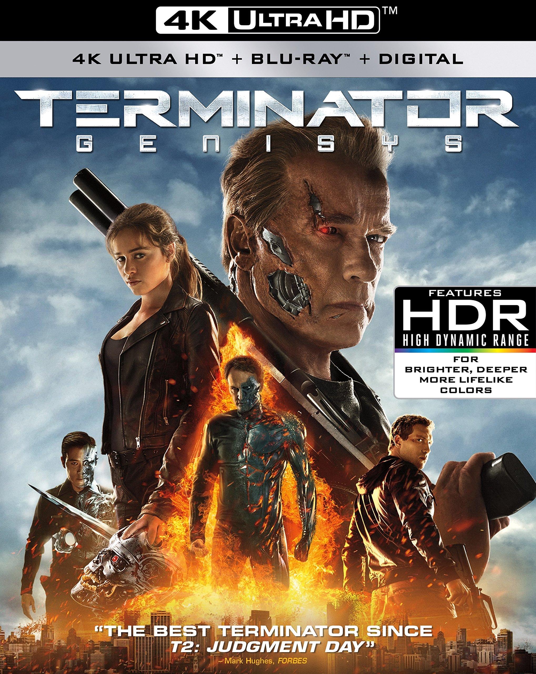 4K Blu-ray : Terminator Genisys (With Blu-Ray, 4K Mastering, Widescreen, Digital Copy, Dolby)
