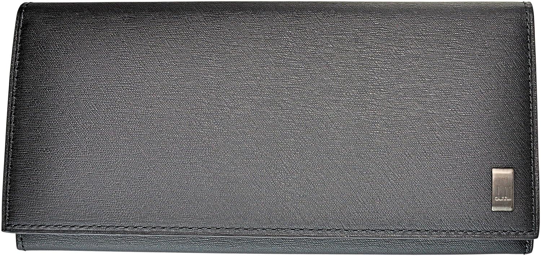 DUNHILL 【ダンヒル】 長財布 小銭入れ付き L2RF10A SIDECAR ブラック B0111FOBSO