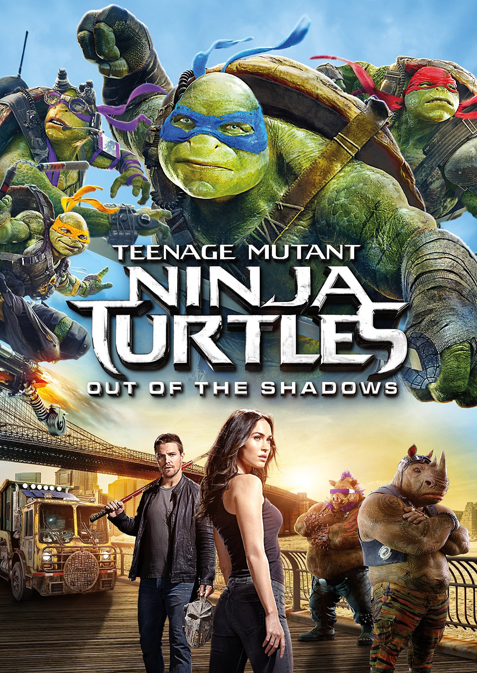 DVD : Teenage Mutant Ninja Turtles: Out Of The Shadows (DVD)