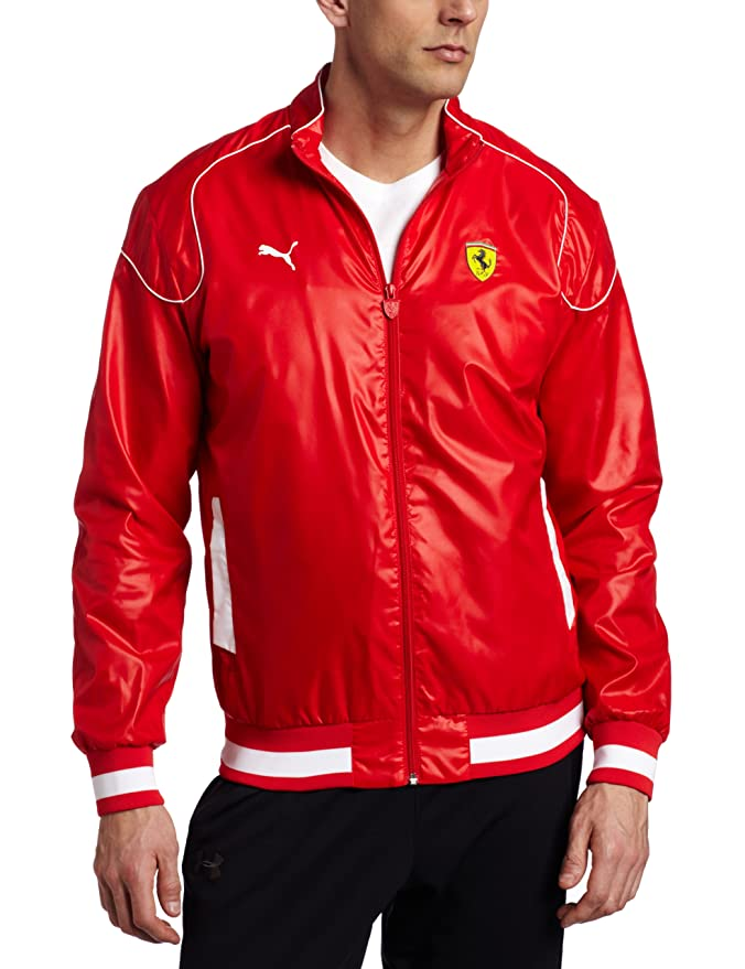 PUMA Mens Sf Lightweight Jacket, Rosso Corsa, XX-Large at Amazon Mens Clothing store: Athletic Shirts