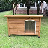 Pets Imperial® Medium Insulated Wooden Norfolk Dog Kennel With Removable Floor For Easy Cleaning B