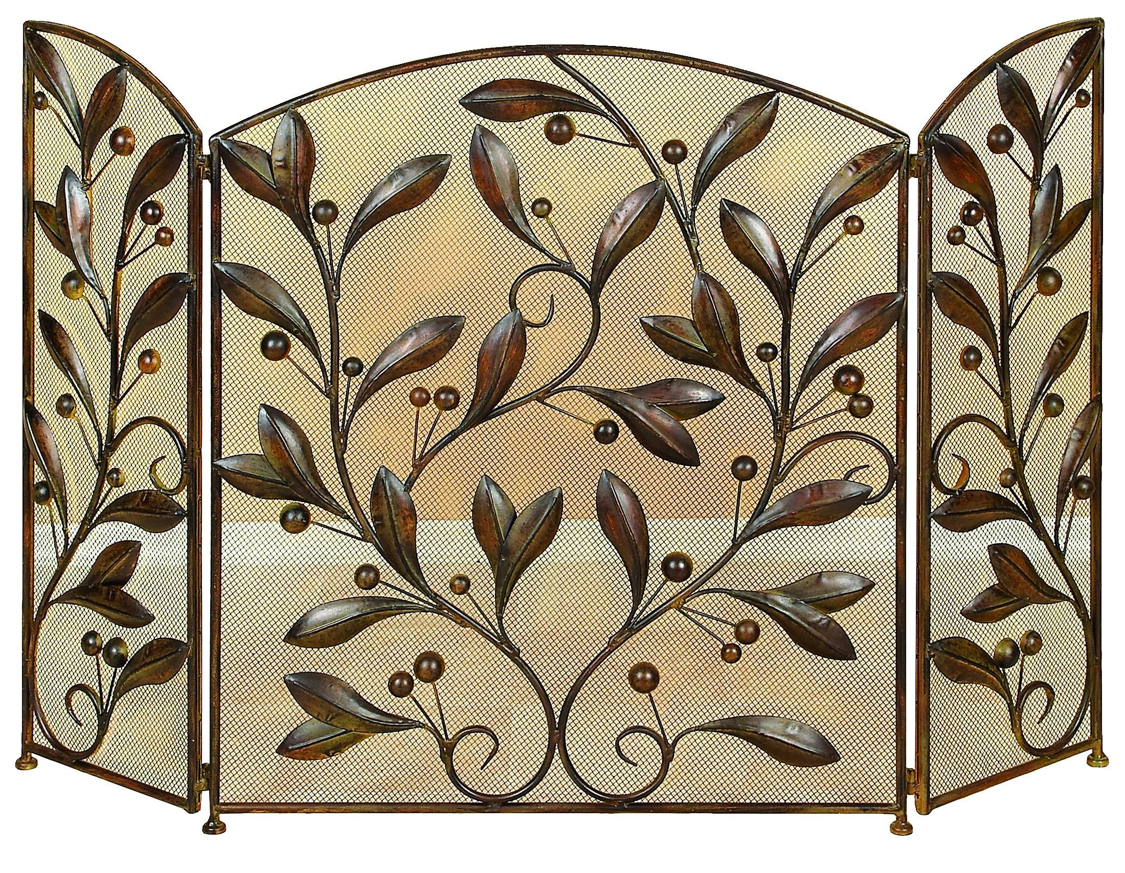 Deco 79 71889 Metal Fire Screen, 48''W x 30''H by Deco 79
