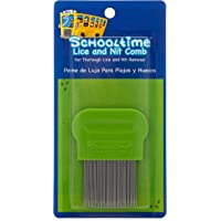 Schooltime Lice & Nit Comb- Metal Comb with English and Spanish Directions