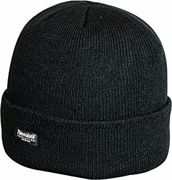Highlander Thinsulate Ski Hat - Black 3ac00da1c65