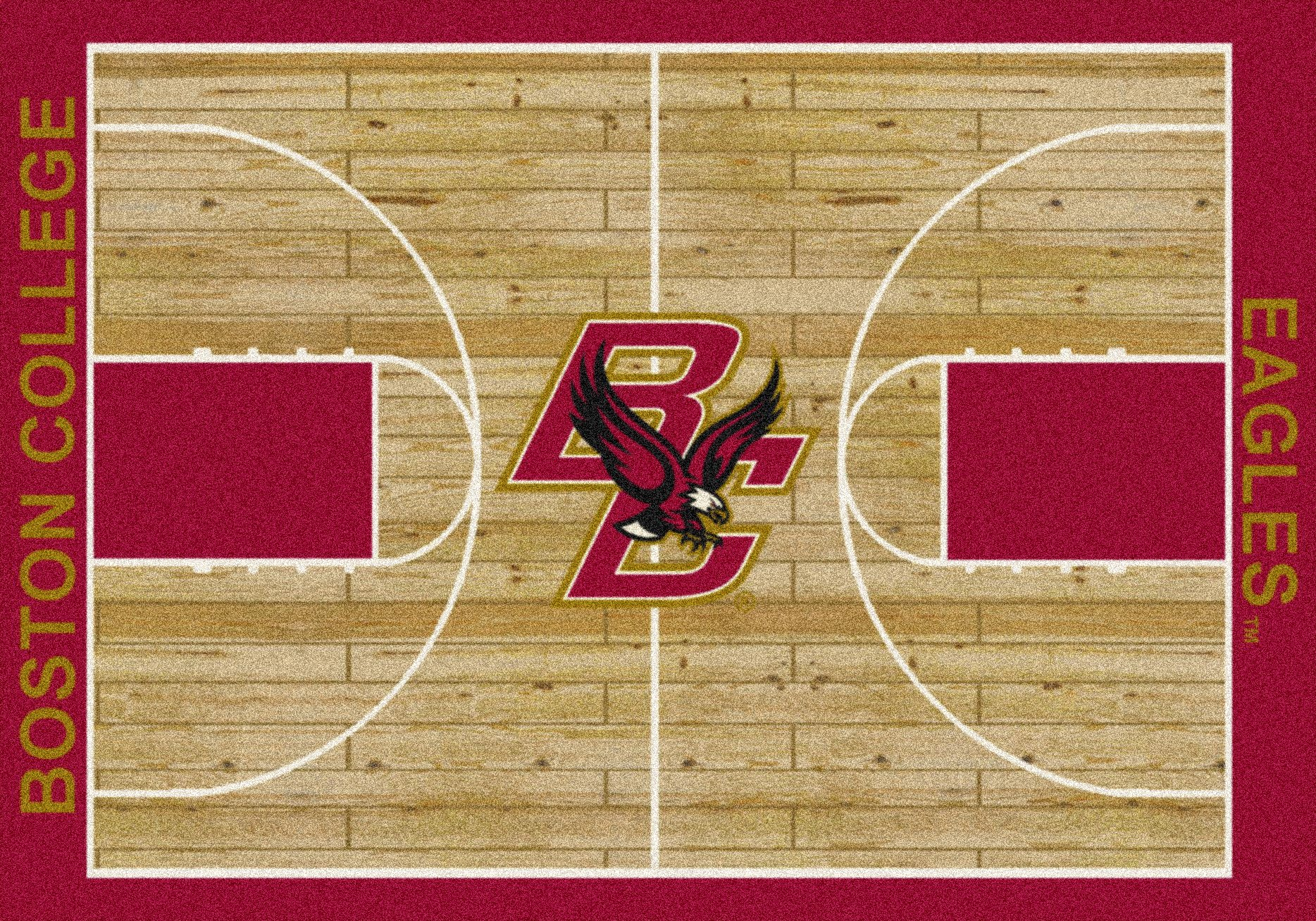 (Ship from USA) 4x6 Milliken Boston College Eagles NCAA Home Court Area Rug - Approx 3'10''x5'4'' /ITEM NO#E8FH4F85493757