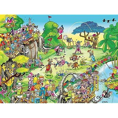 Comic Capers - Golf Safari - 300 Pieces: Toys & Games