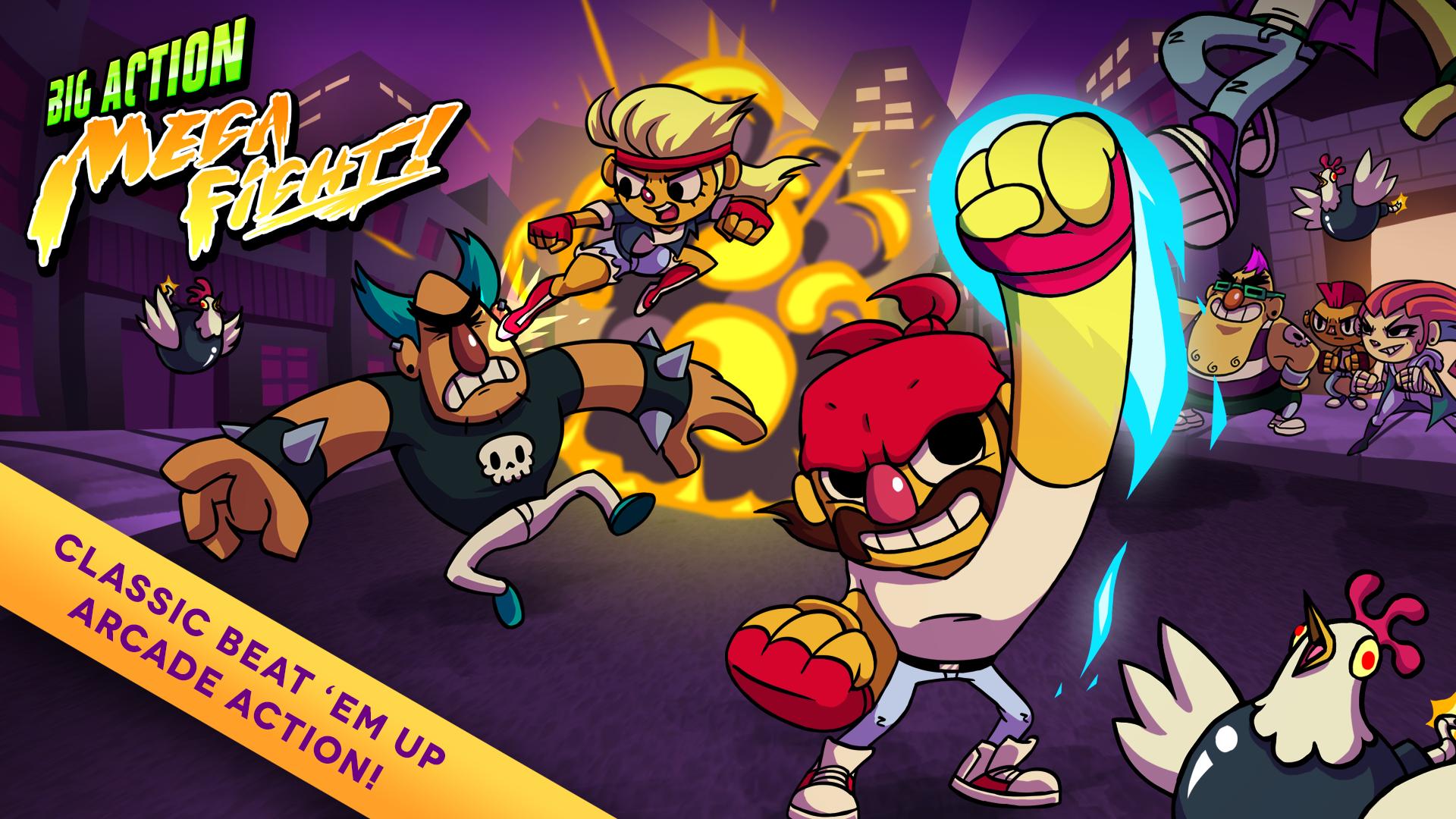 Big Action Mega Fight!