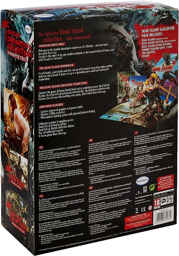 Dead Island Definitive Collection Slaughter Pack - PlayStation 4 [Importación inglesa]: Amazon.es: Videojuegos