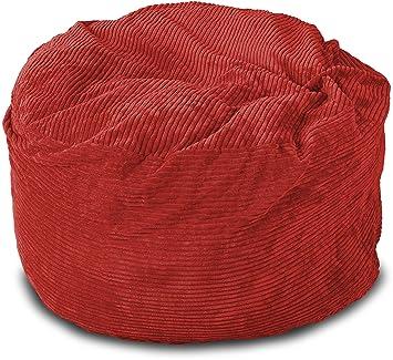 Perfect Lounge U0026 Co Corduroy Round Foam Chair, 36 Inch, ...