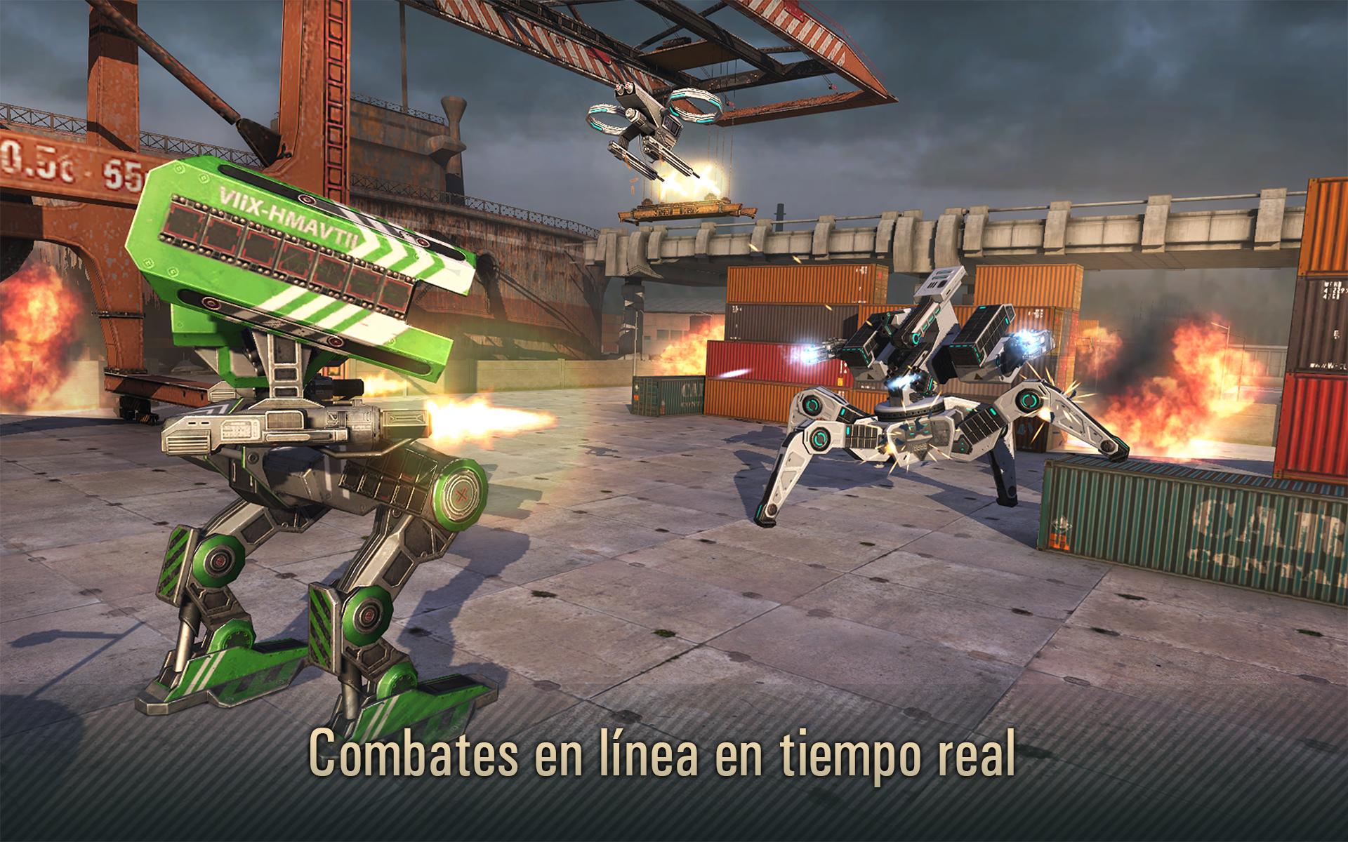 WWR: Ataque de Robot 3D: Amazon.es: Amazon.es