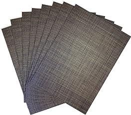 Benson molinos Tweed tejido de Vinilo manteles individuales