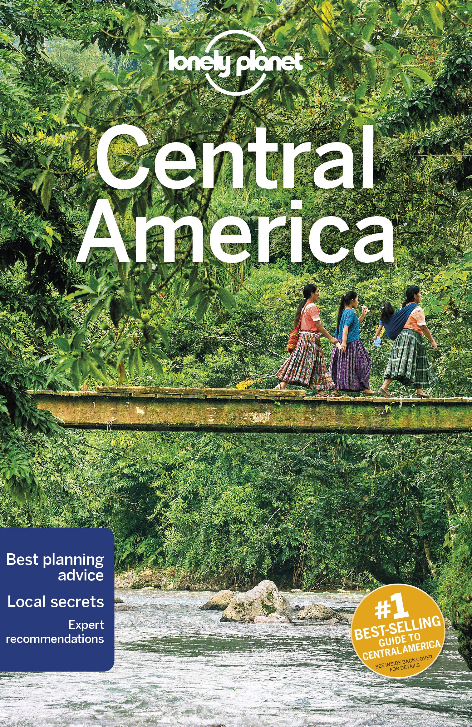 Lonely Planet Central America Travel
