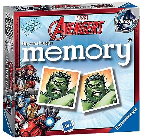 newest c1f8c 719ac Ravensburger - Memory, Gioco da Tavolo - Tema: Avengers