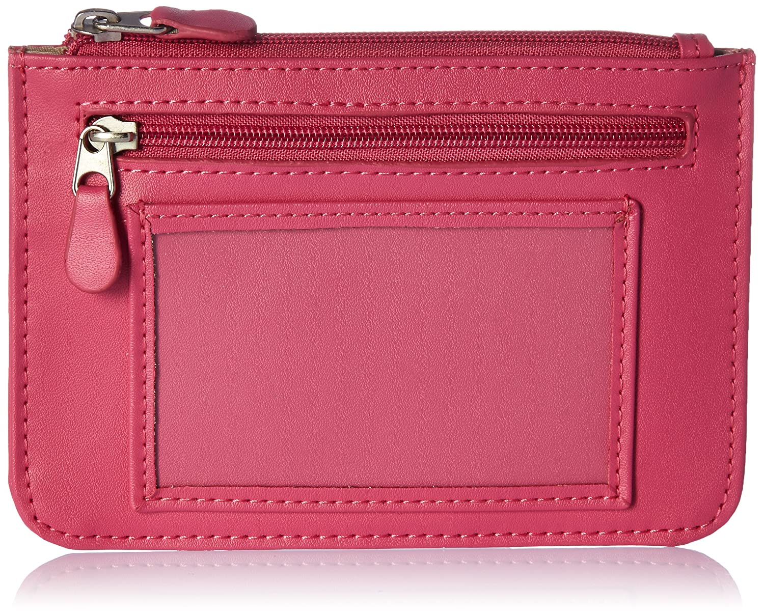 RFID-118-WB-6 Royce Leather Womens RFID Blocking Slim City Wallet in Leather DBA Royce Leather Pink EMPORIUM LEATHER