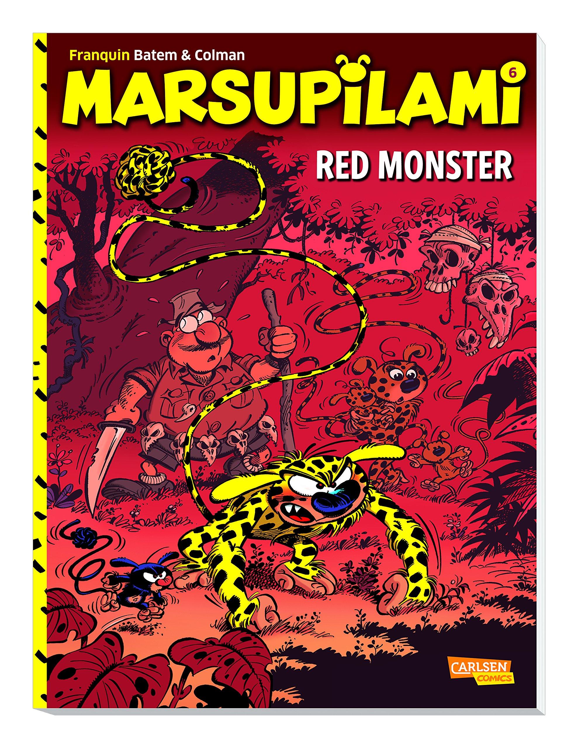 Marsupilami 6: Red Monster: Amazon.de: Stéphan Colman, André ...