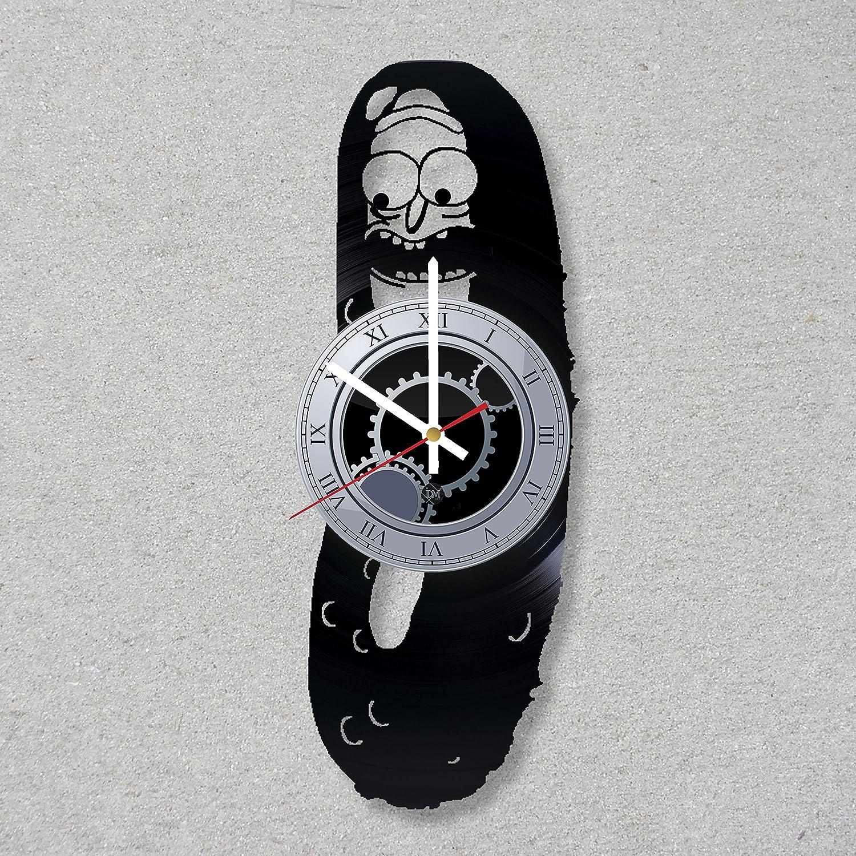 Reloj de Pared Pickle Rick