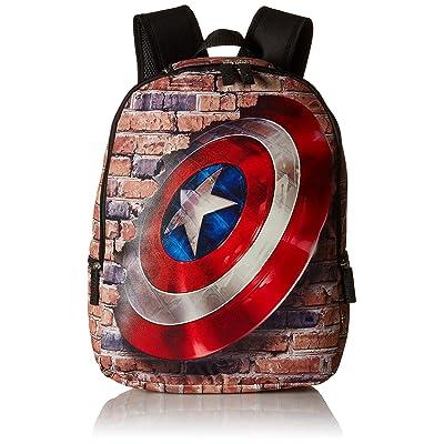 Marvel Avengers Shield Children's Backpack, Blue on sale