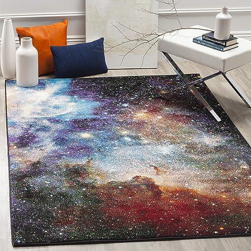 Safavieh Galaxy Collection Area Rug, 6 7 x 9 , Purple Multi