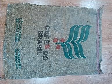 Saco de Cafe de Origen de Arpillera y Yute 70x100cm ...