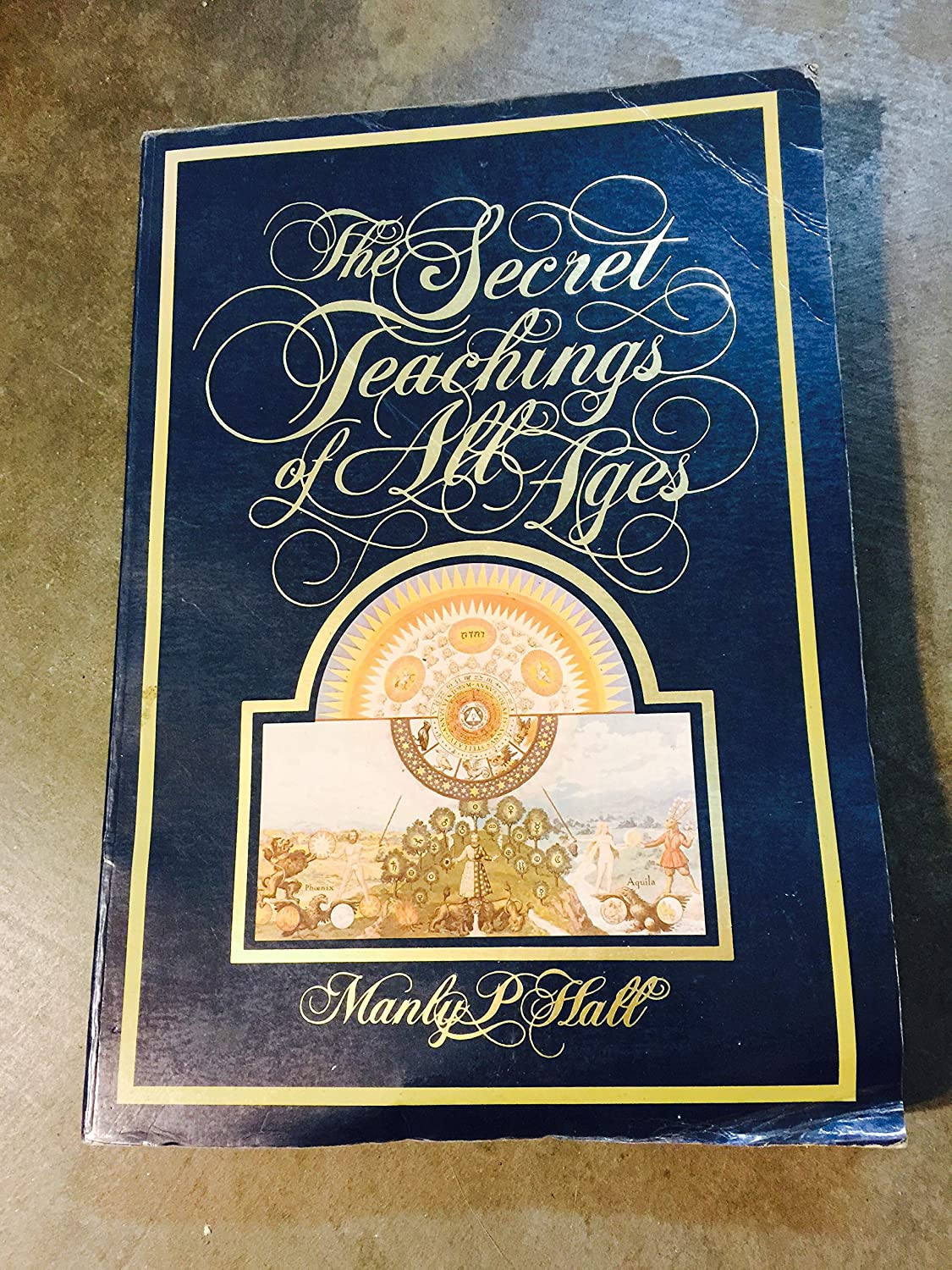 Amazon By Manly P Hall The Secret Teachings Of All Ages An