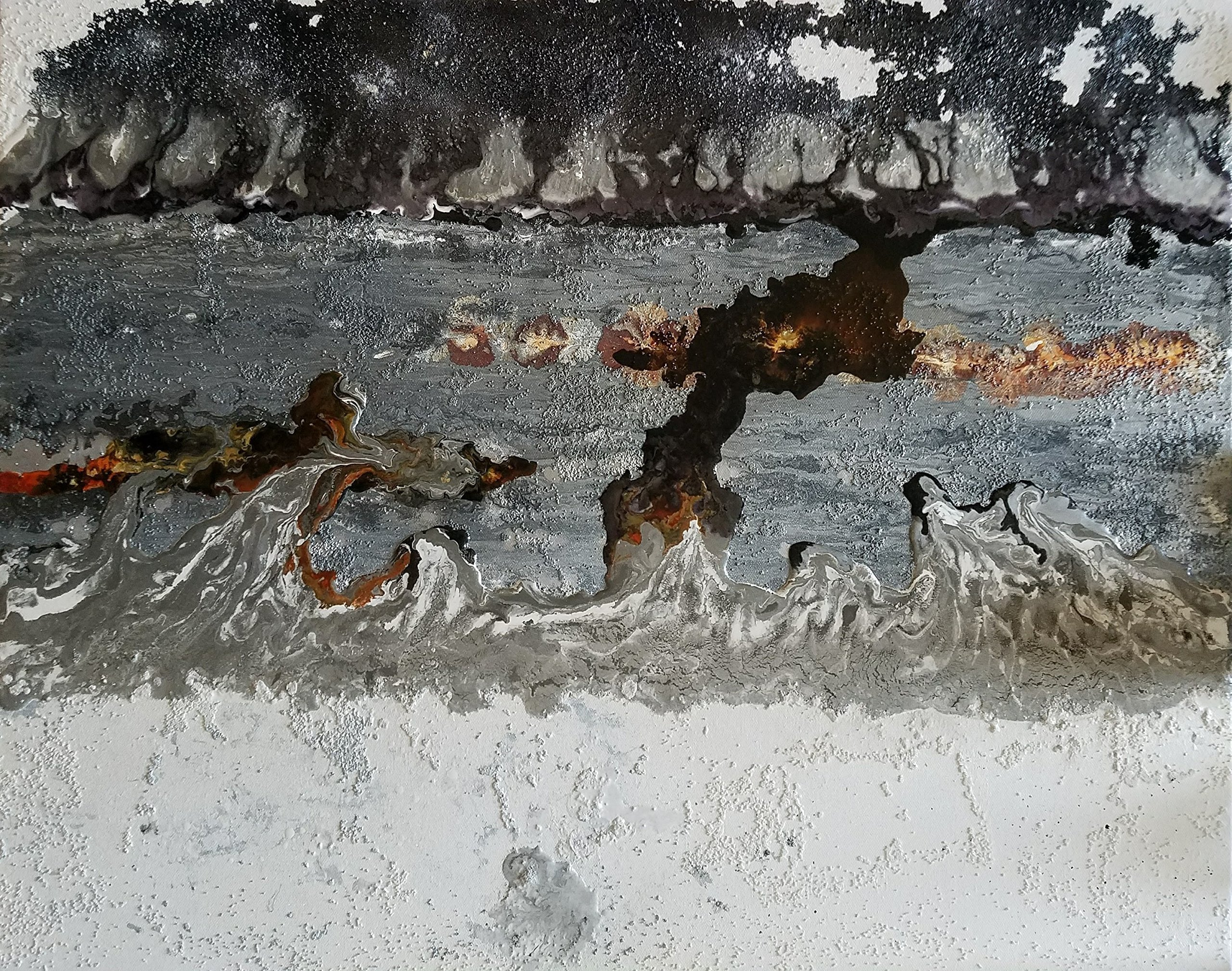 Dark River by Lienzos By Janny