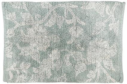 Amazon Com Park B Smith Floral Swirl Cotton Bath Rug 20 By 30
