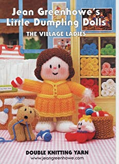 Jean Greenhowe Jiffyknits Book Easy Knit Garter Stitch Double Knitting Patterns