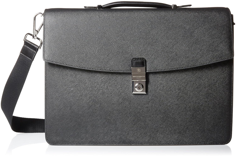Bruno Magli LUGGAGE メンズ One Size ブラック B01N94SMUK