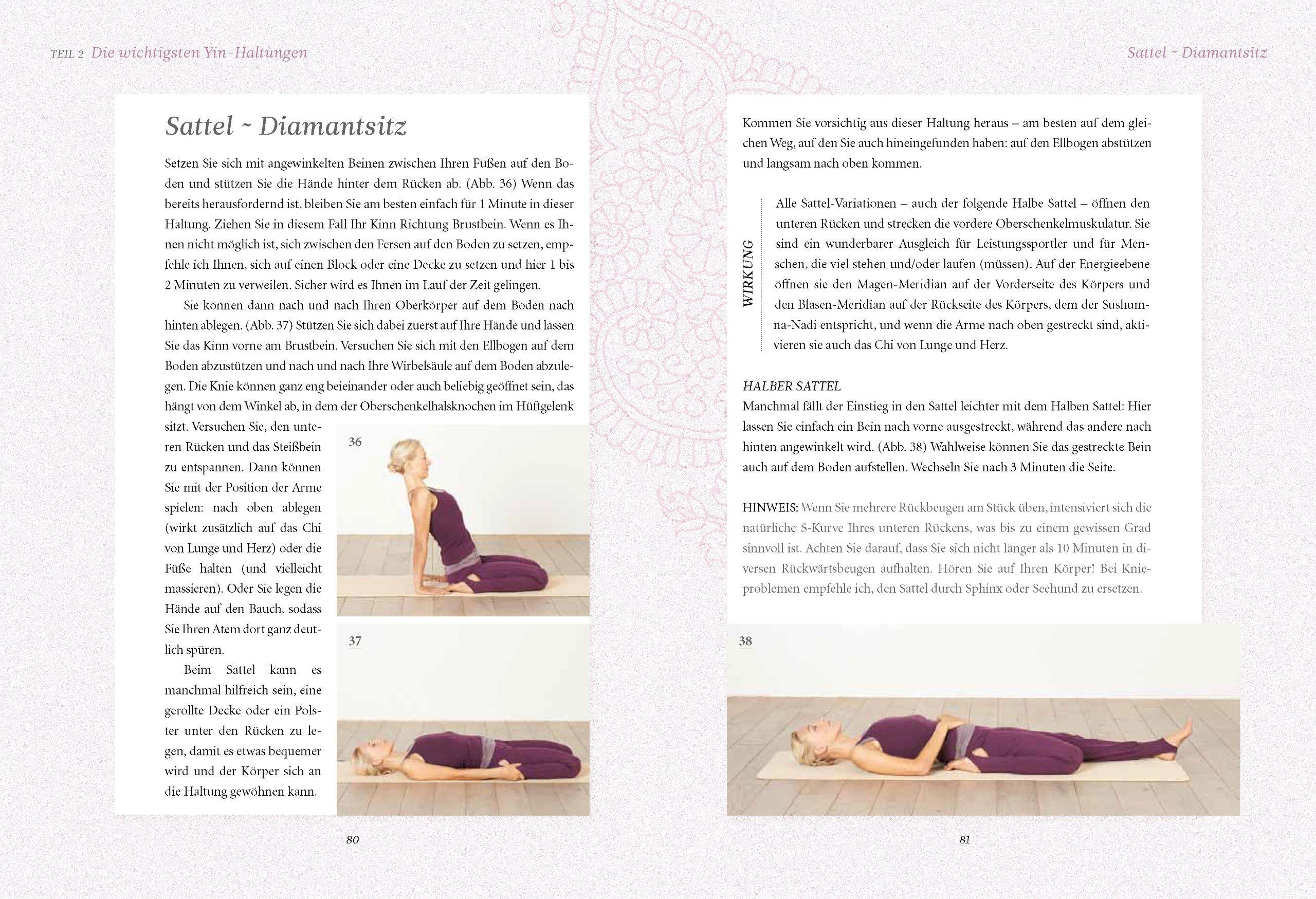 Yin Yoga: Sanfte Übungen für innere Kraft und Harmonie. Mit einem ...