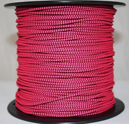 5/' BCY Red /& Black Speckled D Loop Material Bow String Bowstring Archery