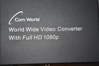 Amazon com: Com World PAL/NTSC/SECAM Video Convertr- RCA