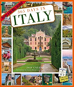 365 Days in Italy Picture-A-Day Wall Calendar 2019 [12
