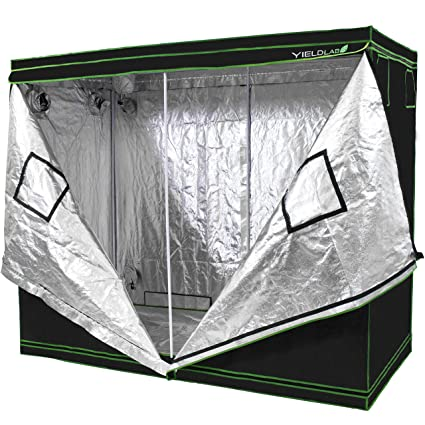 "Yield Lab 96"" x 48"" x 78"" Grow Tent with Viewing Window –"