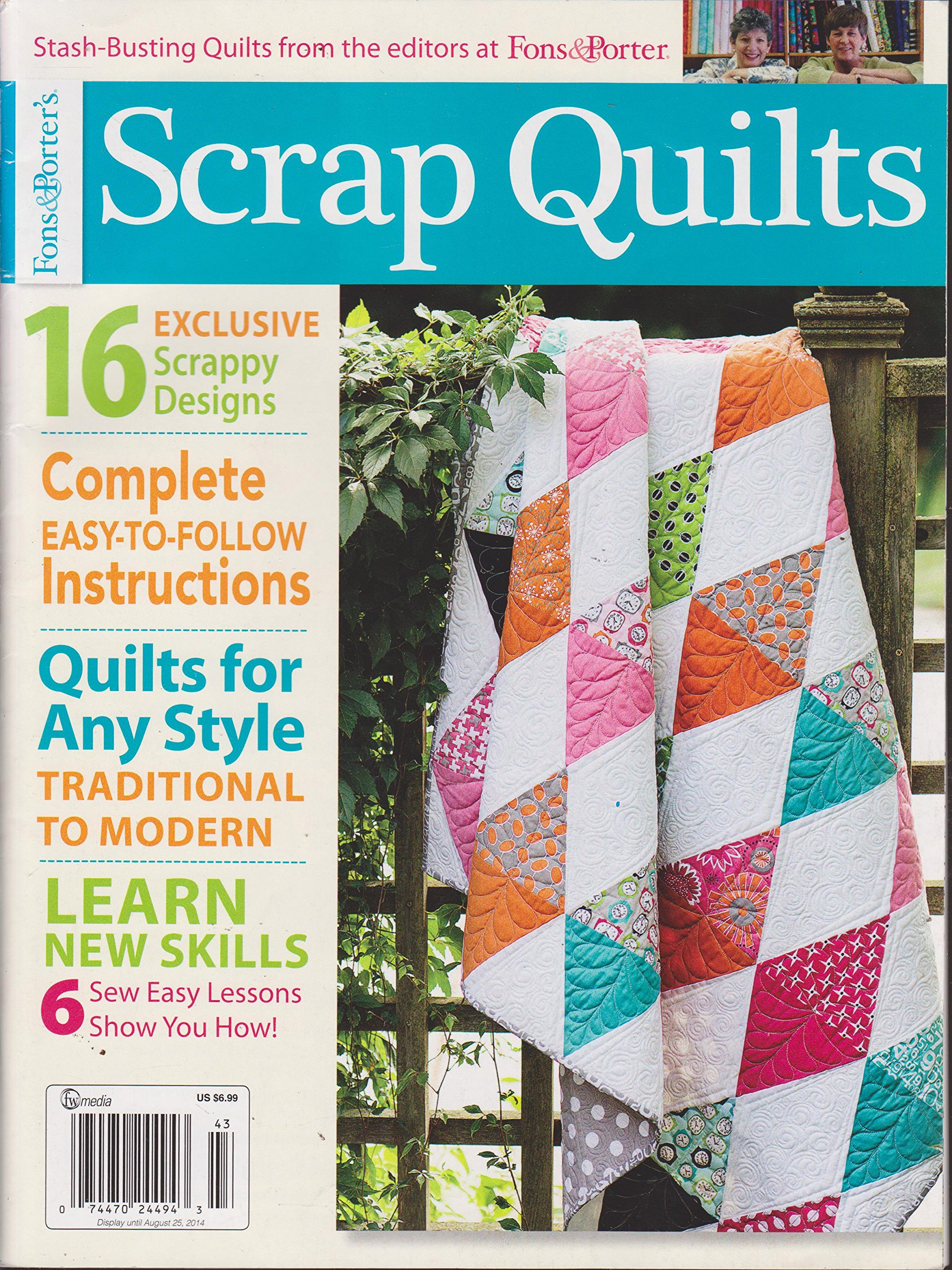 Download Fons & Porter's Scrap Quilts Magazine Spring 2014 pdf epub