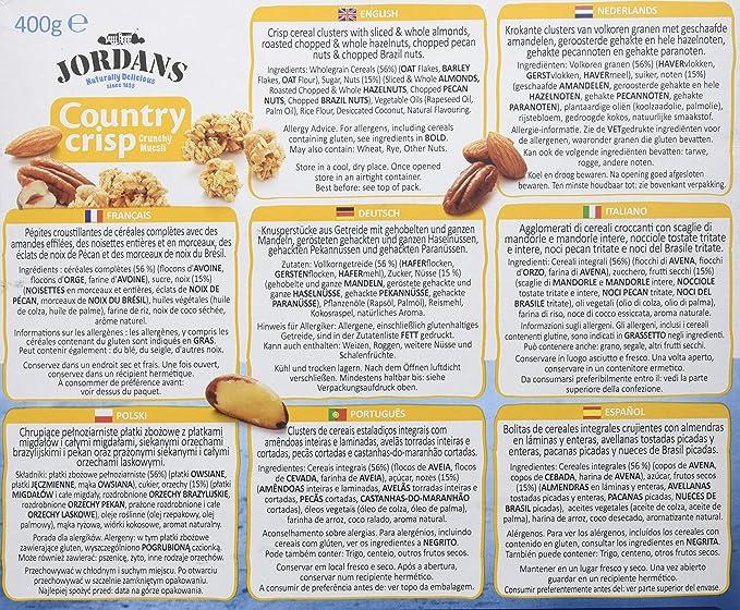 Jordans Cereales Frutos Secos - 400 gr: Amazon.es: Alimentación y ...
