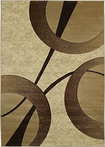 United Weavers of America Zaga Area Rug, 1 10 x 2 8 , Beige