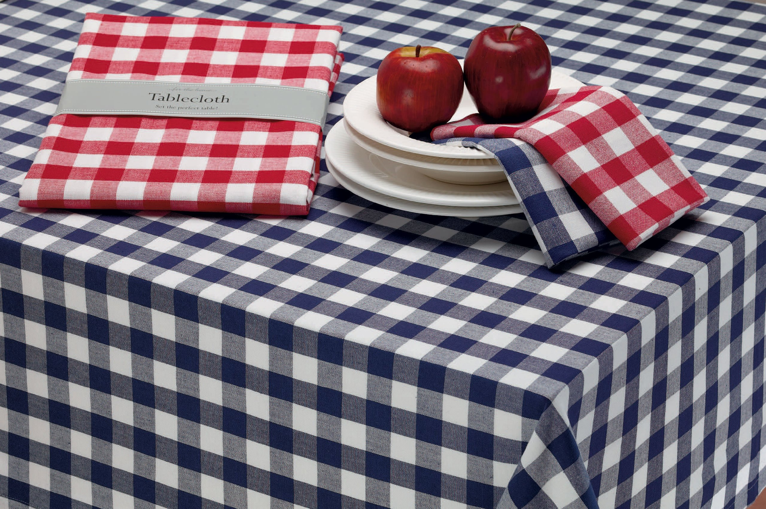 DII Oversized 20x20 Cotton Napkin, Pack of 6, Red & White Check - Perfect for Fall, Thanksgiving, Farmhouse DÃcor, Christmas, Picnics & Potlucks or Everyday Use by DII (Image #11)