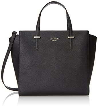 27aaceed1 Amazon.com: kate spade new york Cedar Street Hayden Top Handle Bag, Black,  One Size: Kate Spade: Clothing