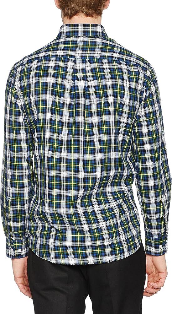 TORO Osborne Camisa M/L Cuadros, 3 Azul/Amarillo, XL para Hombre: Amazon.es: Ropa y accesorios