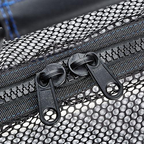 Skog Kust SCUBASak Collapsible Mesh Duffle Bag with Exterior Waterproof Pocket