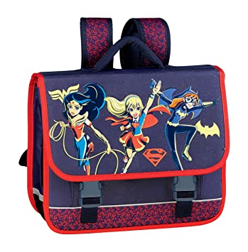 Hamelin 001 SUPER HERO GIRLS HER Mochila escolar, 41 cm, Azul (Bleu Marine): Amazon.es: Equipaje