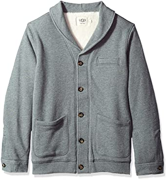 UGG Men s Sherpa Lined Shawl Cardigan at Amazon Men s Clothing store  cd4ad71e2
