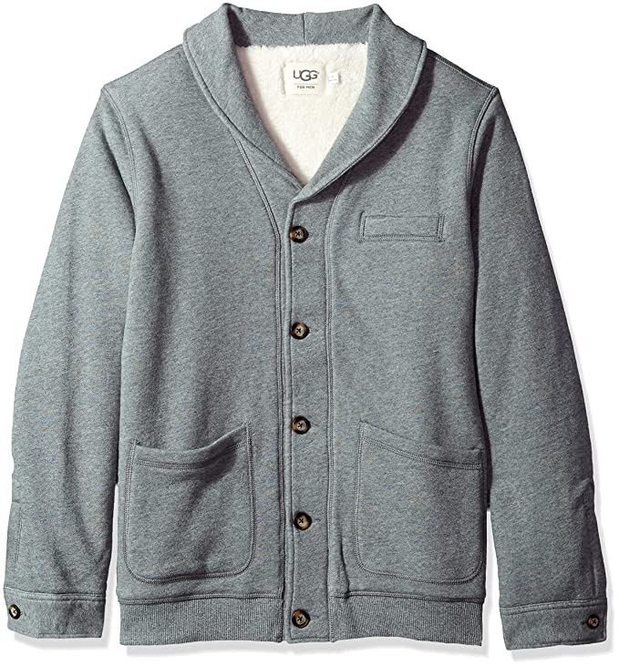 Amazon.com: UGG Men s con forro Sherpa Mantón chaqueta de ...
