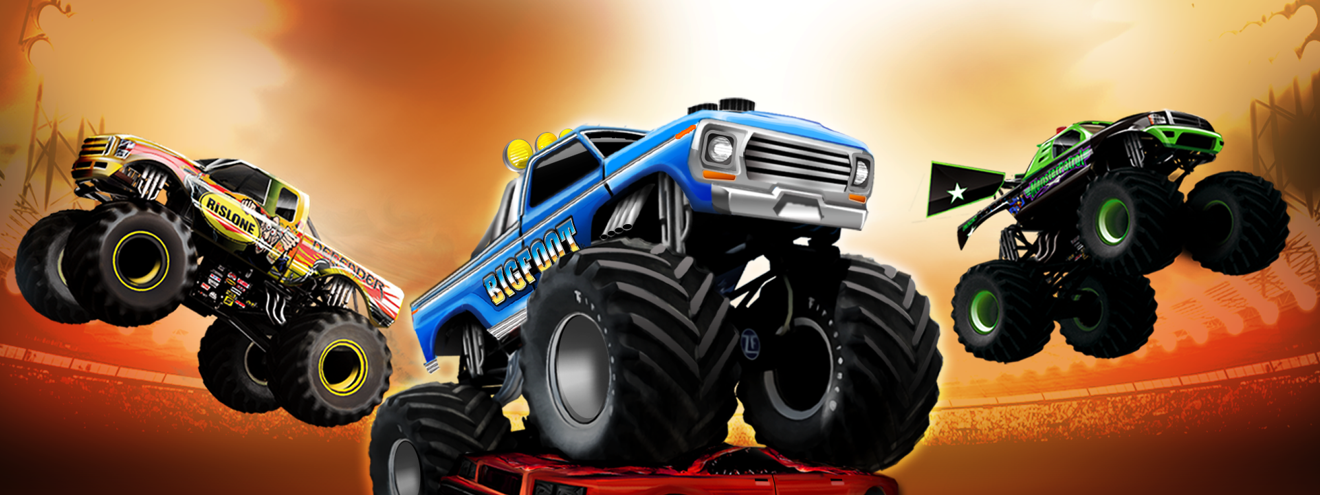 long island drag racing amazon store monster truck. Black Bedroom Furniture Sets. Home Design Ideas