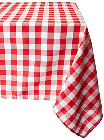 Great LinenTablecloth 70 Inch Square Tablecloth Red U0026 White Checker