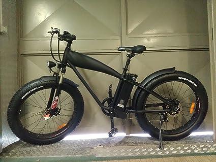 Fat Bike - Bicicleta de montaña con ruedas anchas y pedaleo asistido, 250 W,